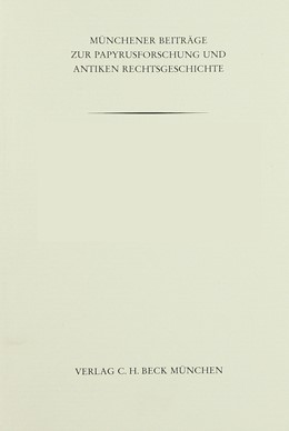 Abbildung von Skeat, Theodore Cressy | Münchener Beiträge zur Papyrusforschung Heft 84: The Reign of August in Egypt | 1993 | Conversion Tables for the Egyp... | Heft 84