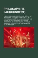 Philosoph (16. Jahrhundert) | Quelle: Wikipedia, 2011 (Cover)