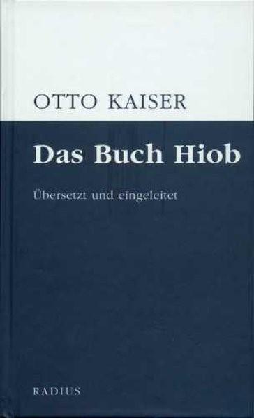 Das Buch Hiob | Kaiser, 2014 | Buch (Cover)