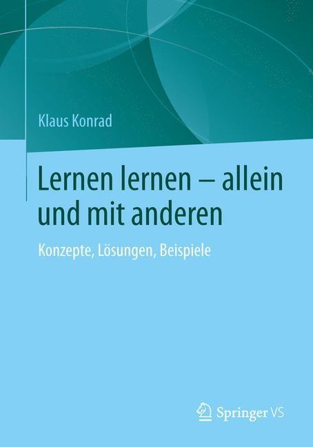 Abbildung von Konrad   Lernen lernen – allein und mit anderen   2014