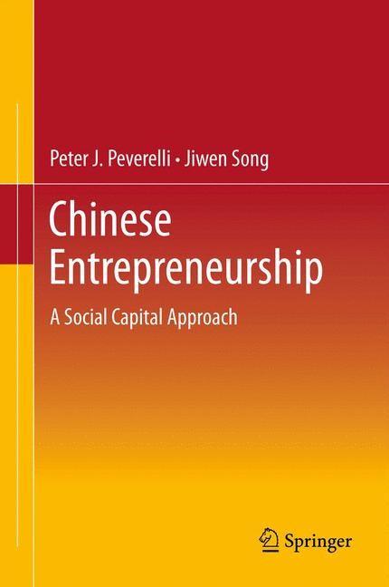Abbildung von Peverelli / Song | Chinese Entrepreneurship | 2014