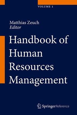 Abbildung von Zeuch | Handbook of Human Resources Management | 1st ed. 2016 | 2016