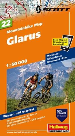 Abbildung von MTB-Karte 22 Glarus 1 : 50 000 | 1. Auflage | 2014 | beck-shop.de