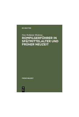 Abbildung von Miedema | Rompilgerführer in Spätmittelalter und Früher Neuzeit | Reprint 2013 | 2004 | Die