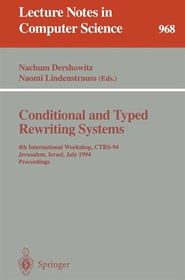 Abbildung von Dershowitz / Lindenstrauss | Conditional and Typed Rewriting Systems | 1995 | 968
