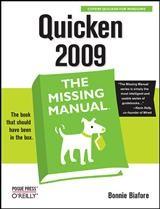 Abbildung von Bonnie Biafore   Quicken 2009: The Missing Manual   2008