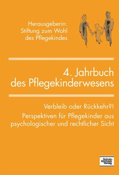 4. Jahrbuch des Pflegekinderwesens, 2007 | Buch (Cover)