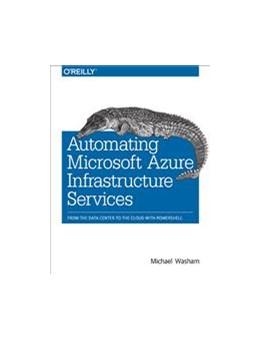 Abbildung von Michael Washam | Automating Microsoft Azure Infrastructure Services | 2014 | From the Data Center to the Cl...