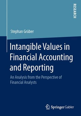 Abbildung von Grüber | Intangible Values in Financial Accounting and Reporting | 2015 | 2014 | An Analysis from the Perspecti...