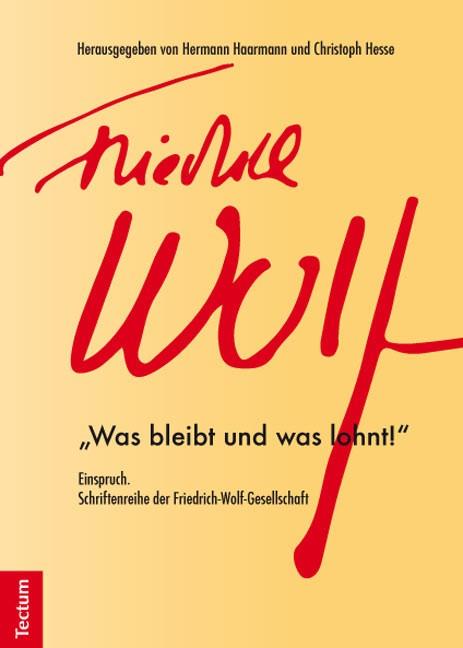 Abbildung von Haarmann / Hesse | Einspruch. Schriftenreihe der Friedrich-Wolf-Gesellschaft | 2014