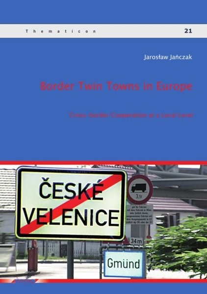 Abbildung von Janczak | Border Twin Towns in Europe | 2014