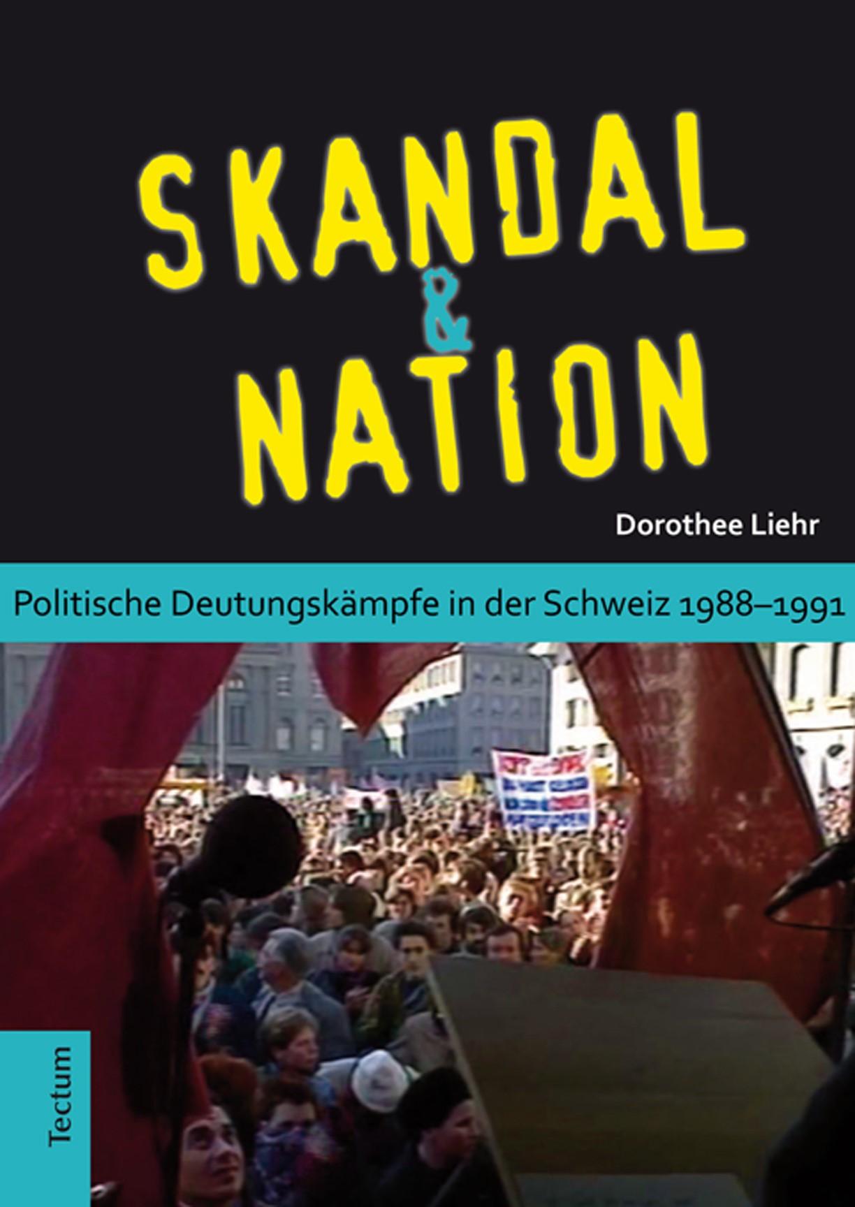 Skandal und Nation | Liehr, 2014 | Buch (Cover)