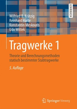 Abbildung von Krätzig / Harte / Meskouris   Tragwerke 1   2014   Theorie und Berechnungsmethode...