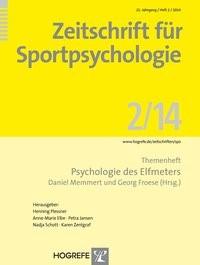 Abbildung von Memmert / Froese | Psychologie des Elfmeters | 2014