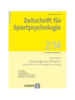 Abbildung von Memmert / Froese   Psychologie des Elfmeters   2014   Themenheft der Zeitschrift für...