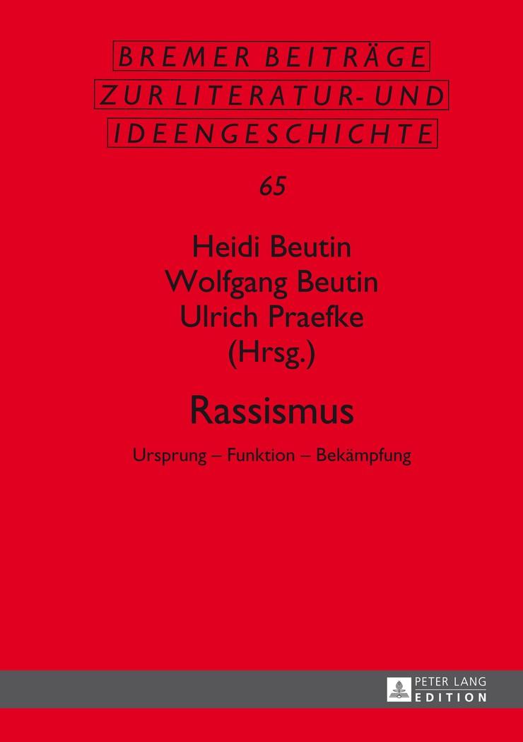 Abbildung von Beutin / Praefke | Rassismus | 2014