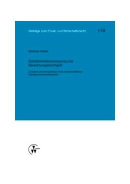 Abbildung von Deutsch / Herber / Medicus / Rolfs / Roth | Betriebsrentenanpassung und Berechnungsdurchgriff | 2014 | Evolution und Perspektiven ein... | 119