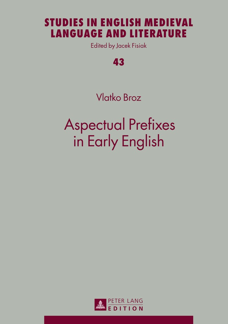 Abbildung von Broz | Aspectual Prefixes in Early English | 2014
