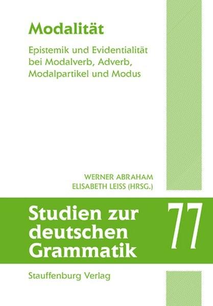 Modalität | Abraham / Leiss, 2009 | Buch (Cover)