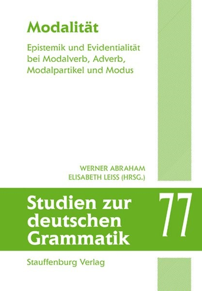 Abbildung von Abraham / Leiss | Modalität | 2009
