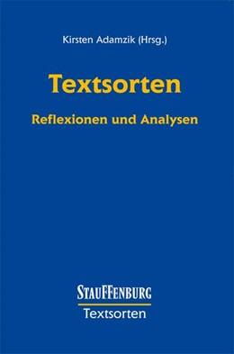 Abbildung von Adamzik | Texte - Diskurse - Interaktionsrollen | 2002 | Analysen zur Kommunikation im ...