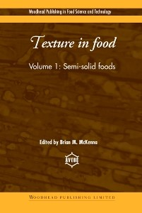 Abbildung von McKenna | Texture in Food | 2003