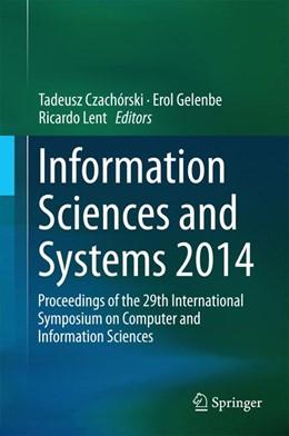 Abbildung von Czachórski / Gelenbe | Information Sciences and Systems 2014 | 1. Auflage | 2014 | beck-shop.de