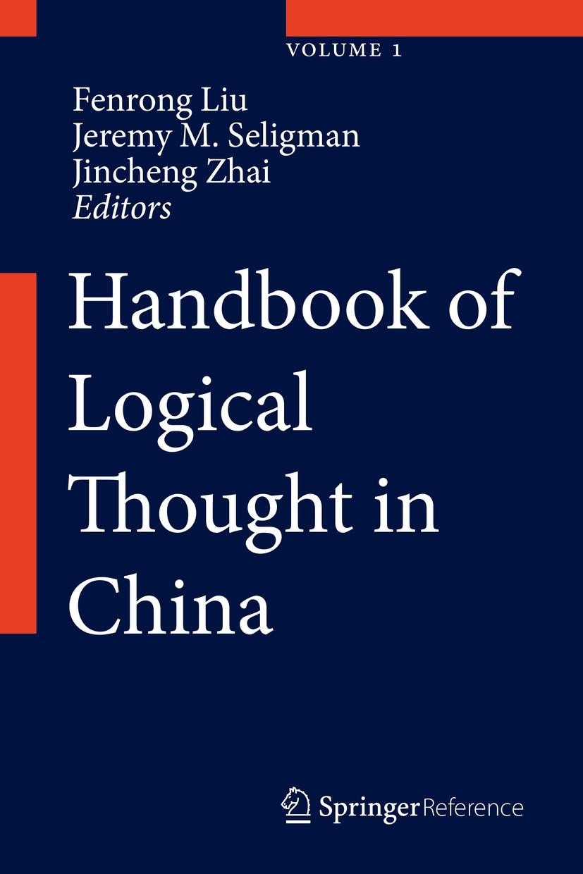 Handbook of Logical Thought in China | Liu / Seligman / Zhai | 1st ed. 2022, 2022 | Buch (Cover)