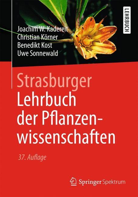 Strasburger - Lehrbuch der Pflanzenwissenschaften | Kadereit / Körner / Kost, 2014 | Buch (Cover)