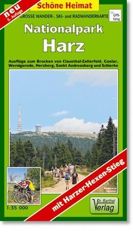 Abbildung von Große Wanderkarte-, Ski- und Radwanderkarte Nationalpark Harz 1 : 35 000 | 5., Aufl | 2014 | Ausflüge zum Brocken von Claus...