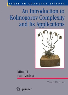 Abbildung von Li / Vitányi | An Introduction to Kolmogorov Complexity and Its Applications | 2008