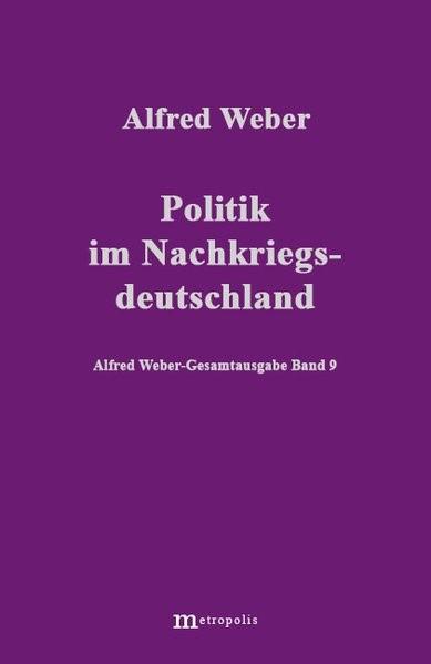 Abbildung von Weber | Politik im Nachkriegsdeutschland | 2001