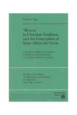Abbildung von Hipp | 'Person' in Christian Tradition and the Conception of Saint Albert the Great | 2001 | A Systematic Study of ist Conc... | 57