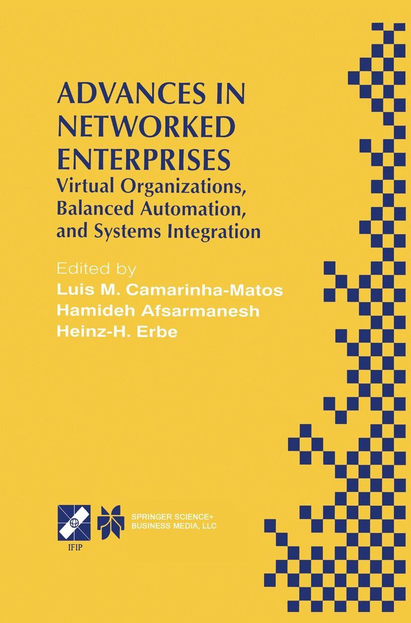 Abbildung von Camarinha-Matos / Afsarmanesh / Erbe | Advances in Networked Enterprises | 2000