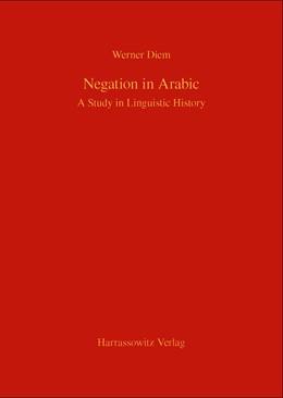 Abbildung von Diem   Negation in Arabic   1. Auflage   2014   beck-shop.de