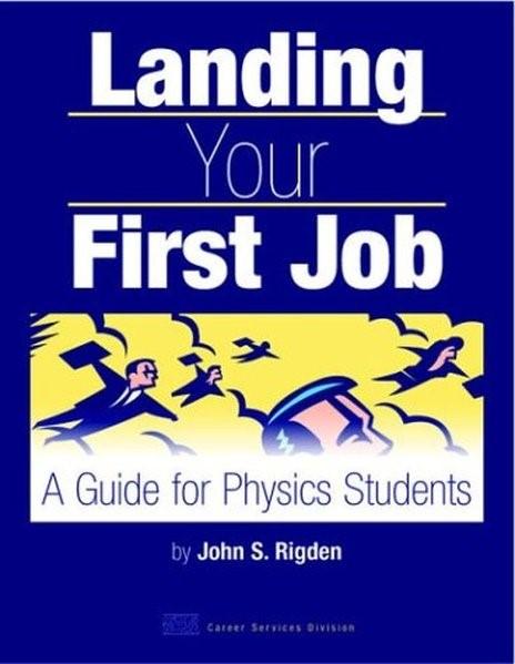 Abbildung von Rigden   Landing Your First Job   2003