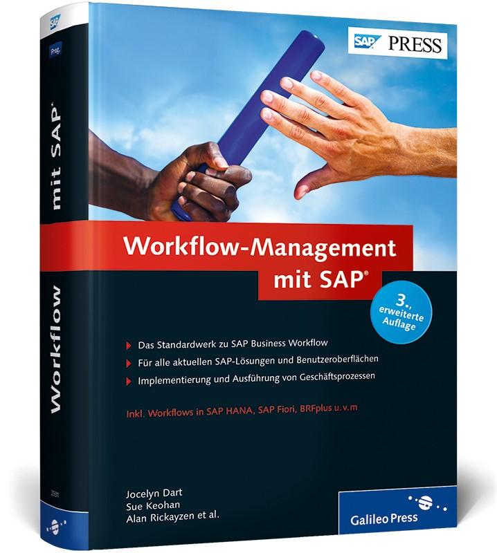 Workflow-Management mit SAP   Adams / Anikeev / Bakker, 2014   Buch (Cover)