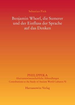 Abbildung von Fink | Benjamin Whorf, die Sumerer und der Einfluss der Sprache auf das Denken | 2015 | 70