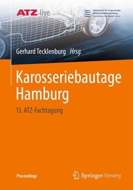 Abbildung von Tecklenburg | Karosseriebautage Hamburg | 2014 | 13. ATZ-Fachtagung