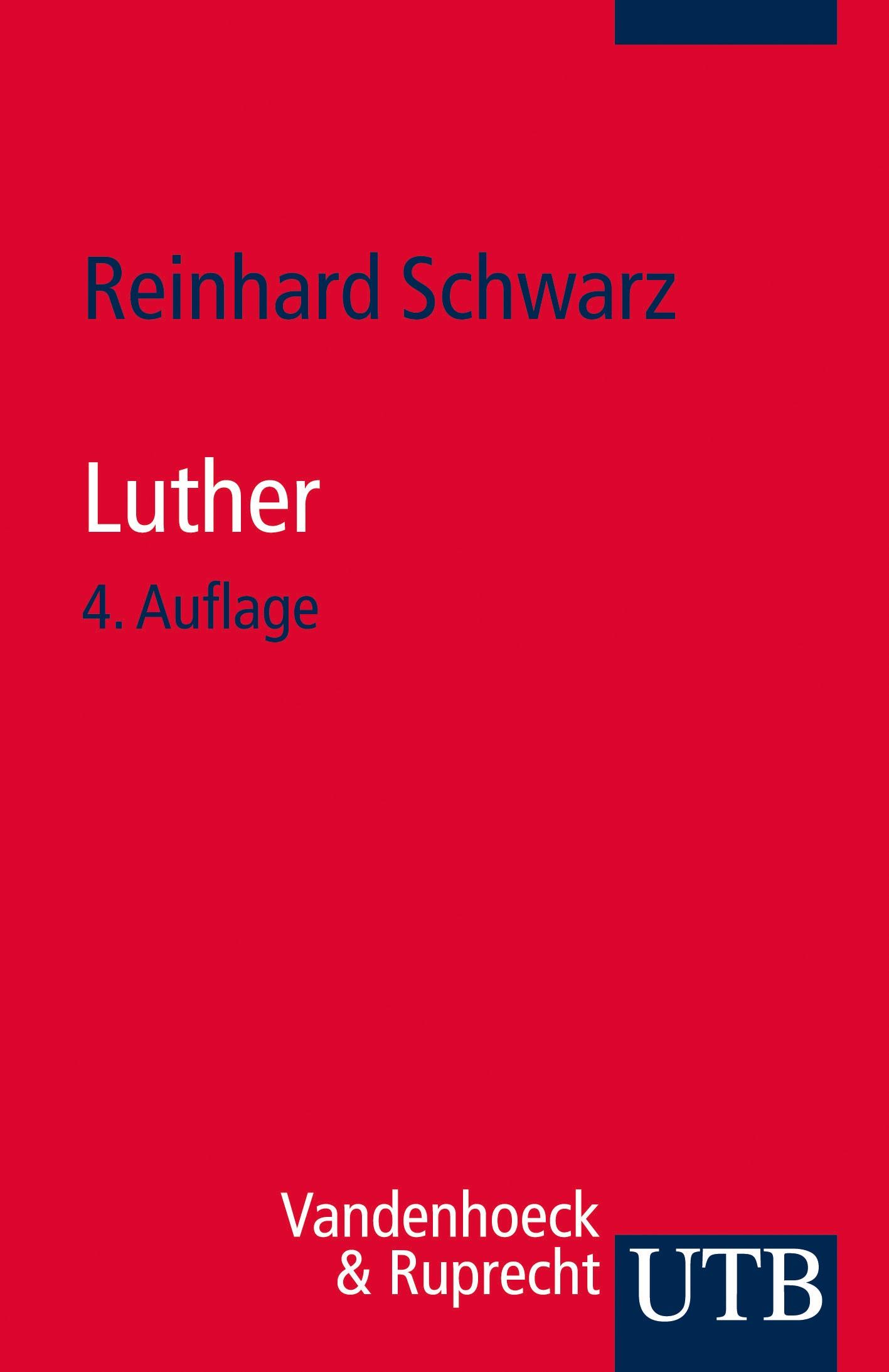 Abbildung von Schwarz | Luther | durchges. Aufl. | 2014