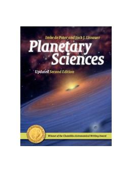 Abbildung von de Pater / Lissauer | Planetary Sciences | 1. Auflage | 2015 | beck-shop.de
