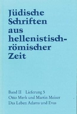 Abbildung von Merk / Meiser | Das Leben Adams und Evas | 1998 | Jüdische Schriften aus helleni...