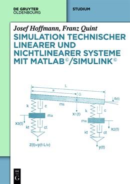 Abbildung von Hoffmann / Quint | Simulation technischer linearer und nichtlinearer Systeme mit MATLAB/Simulink | 1. Auflage | 2014