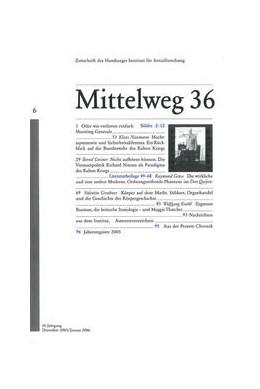 Abbildung von 50 Jahre Bundeswehr | 1995 | Mittelweg 36, Zeitschrift des ... | 6/2005