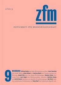 Abbildung von Gesellschaft für Medienwissenschaft | Zeitschrift für Medienwissenschaft 9 | 2013