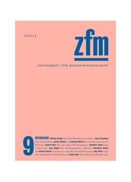 Abbildung von Medienwissenschaft | Zeitschrift für Medienwissenschaft 9 | 1. Auflage | 2013 | beck-shop.de