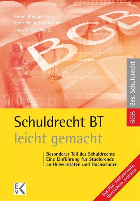 Abbildung von Gruschwitz | Schuldrecht BT- leicht gemacht | 1. Auflage. 2014 | 2014