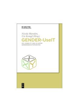 Abbildung von Hochschule Heilbronn, Kompetenzzentrum Technik-Diversity-Chancengleichheit / Marsden / Kempf | Gender-UseIT | 2014 | HCI, Usability und UX unter Ge...