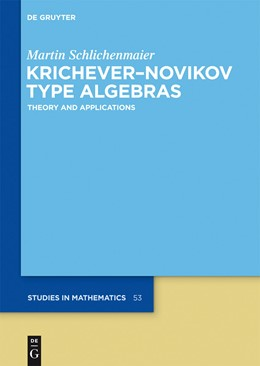 Abbildung von Schlichenmaier | Krichever–Novikov Type Algebras | 2014 | Theory and Applications | 53