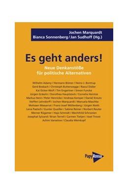 Abbildung von Marquardt / Sonnenberg / Sudhoff | Es geht anders! | 2014